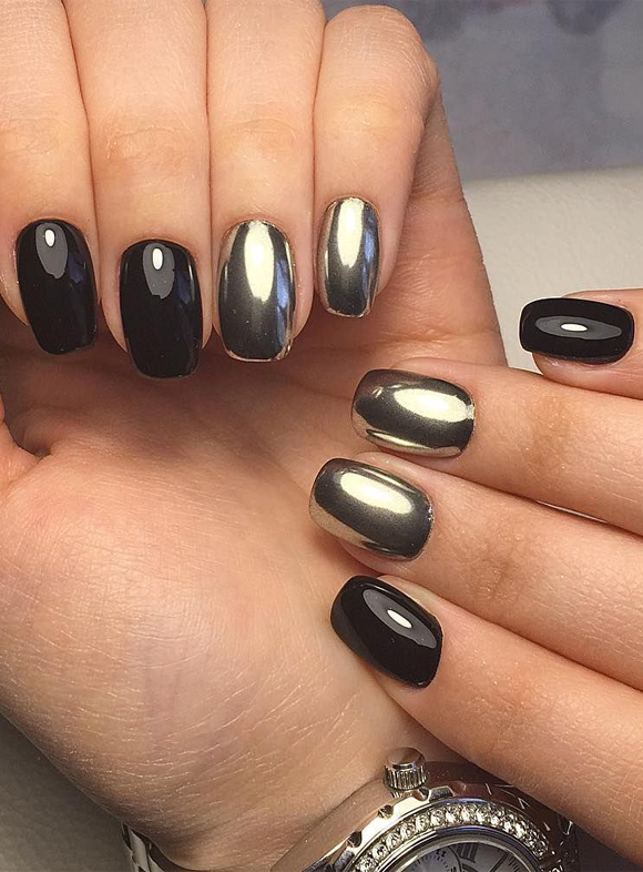 Bright Black Nail Designs to Try Nowadays
