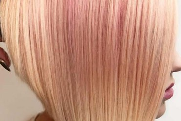 Buttered Rose Gold Hair Color Trends for 2019