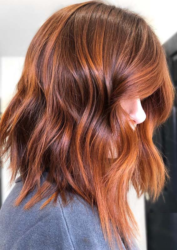 Copper Red Hair Color Shades for 2019