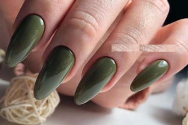 Dark Green Gel Nail Polish Ideas for 2019