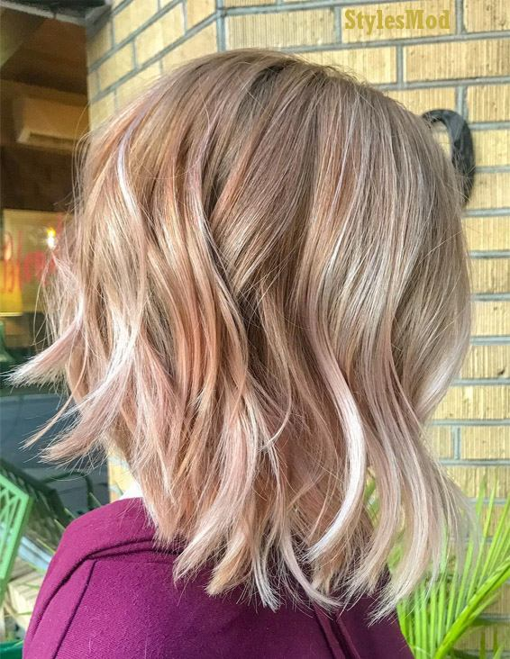 Fabulous Textured Bob Haircuts & Hairstyle Trends for 2019