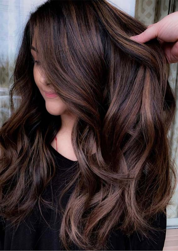Gorgeous Brunette Balayage Highlights for 2019