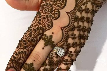 Gorgeous Henna Mehndi Style for Wedding Day In 2019