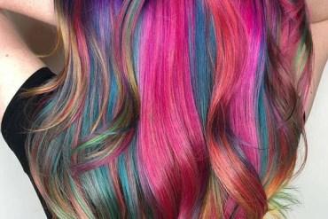 Magical Rainbow Hair Color Ideas for 2019
