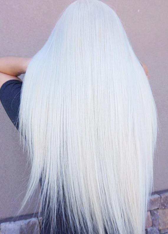 Perfect Ice Blond Long hairstyles for Every Occasion in 2019