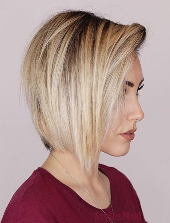 Wonderful Short Hairstyle & Hair Color Trends for 2019