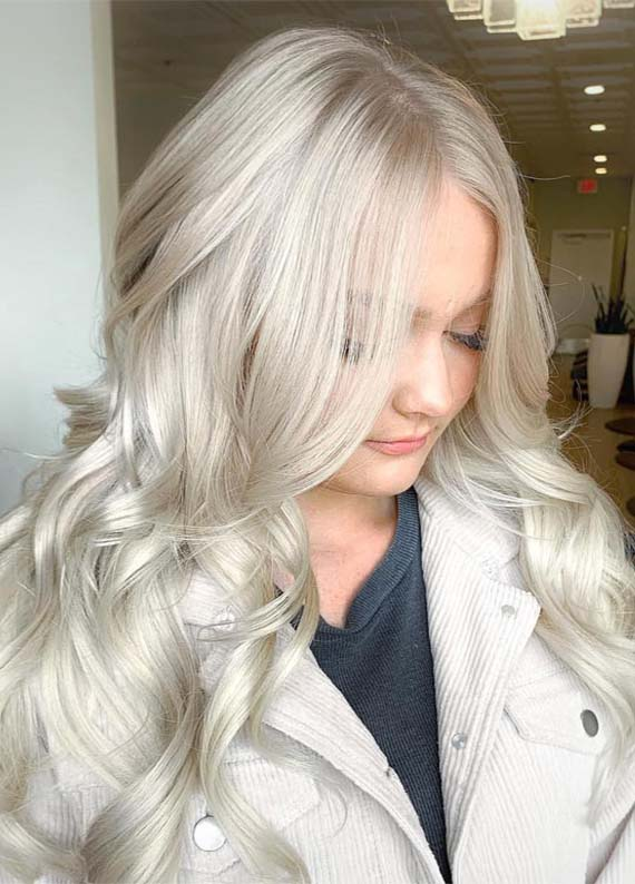 Absolutely Perfect Shades Of Platinum Blonde Hair Colors
