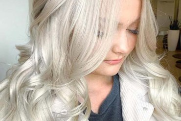 Absolutely Perfect Shades of Platinum Blonde Hair Colors in 2019