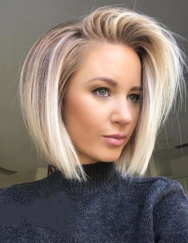 Amazing Short Haircuts with Shadow Root for 2019