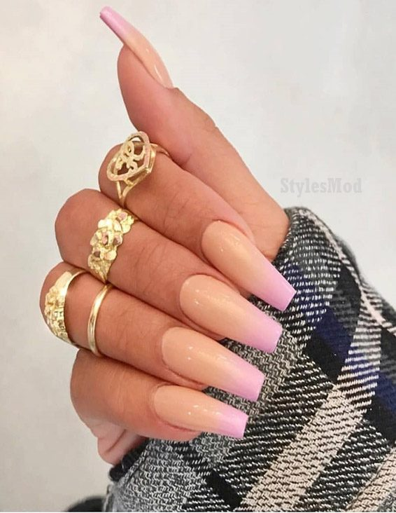 Attractive Long Nail Art Styles for 2019