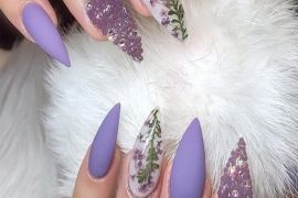 Beautiful Purple Nail Designs that are Easy to Wear In 2019