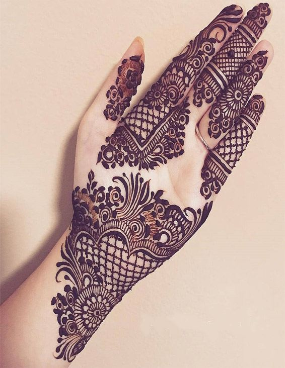 Best & Fresh Mehndi Designs & Ideas for Girls