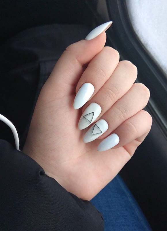 Cutest White Nail Arts & Images for 2019