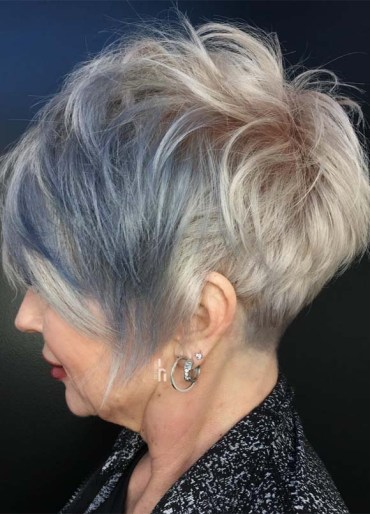 Incredible Blonde Pixie Cuts for Mature Women in 2019
