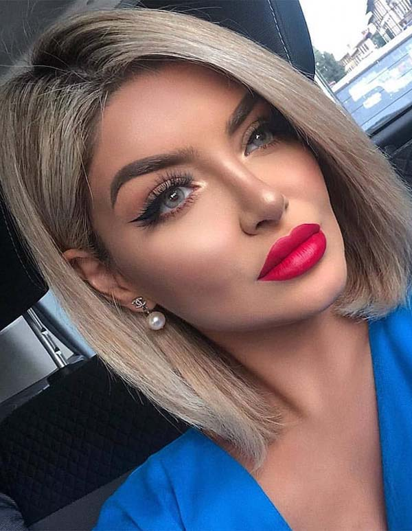 Best Medium Length Hairstyles Amp Haircuts For Women 2019
