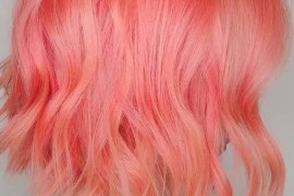 Rose Pink Hair Color Ideas for 2019
