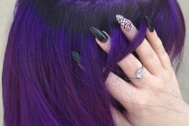 Royal Purple Bob Haircuts in 2019