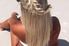 Amazing Braid Styles with Sun-kissed Silky Hairstyles for 2019