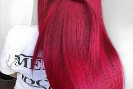 Awesome Red Hair Color Shades for Long Sleek Hairstyles for 2019