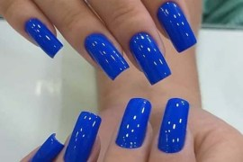Blue nail polish shades for Women 2019