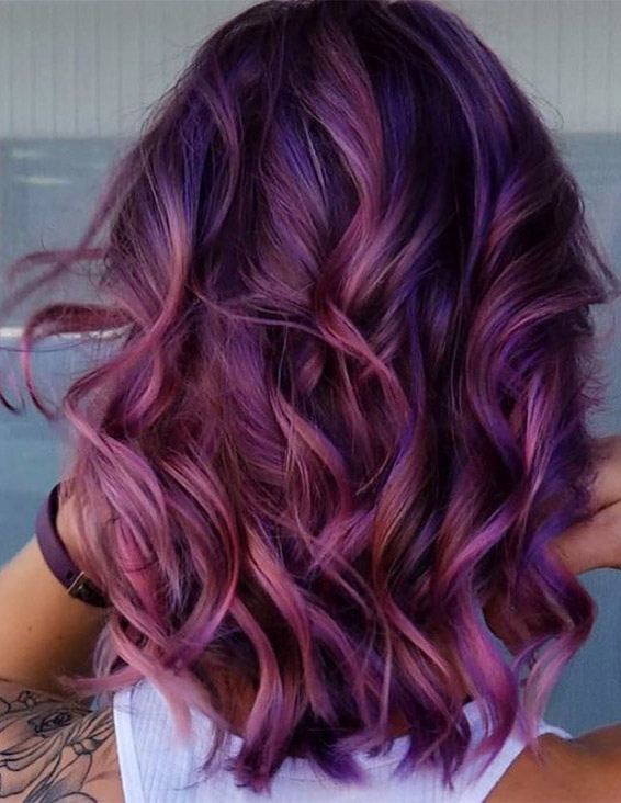 Delightful Hair Color Shades & Highlights for Girls