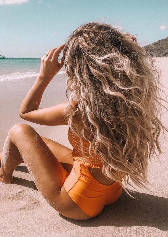 Lovely Beach Hairstyles for Summer Season for 2019