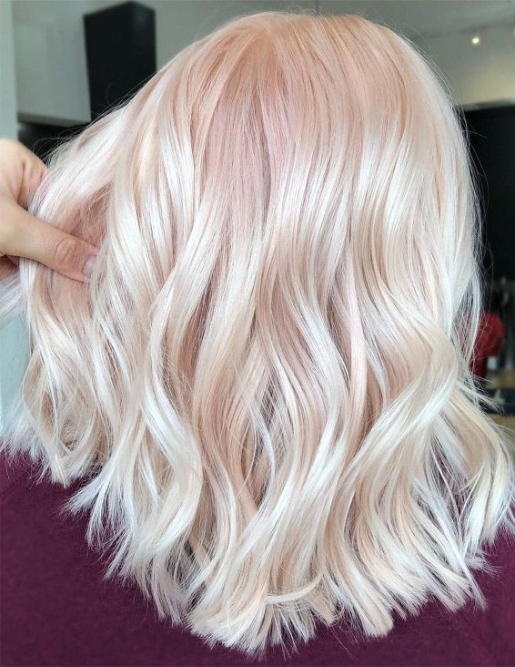 Peachy Keen Hair Color Ideas & Style In 2019