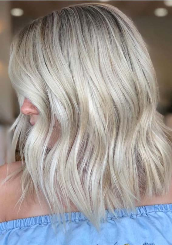Blonde Hair Color Shades for Spring Season 2019