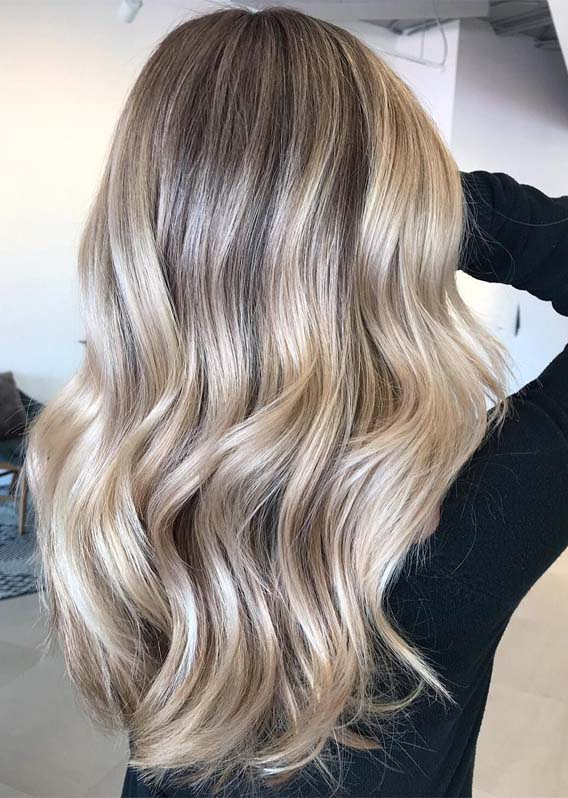 Cool Blonde Balayage Hair Color Ideas For Girls In 2019 Stylesmod
