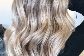 Cool Blonde Balayage Hair Color Ideas for 2019
