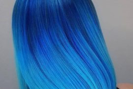 Lovely Shades of Blue Hair Color for Superior Ladies