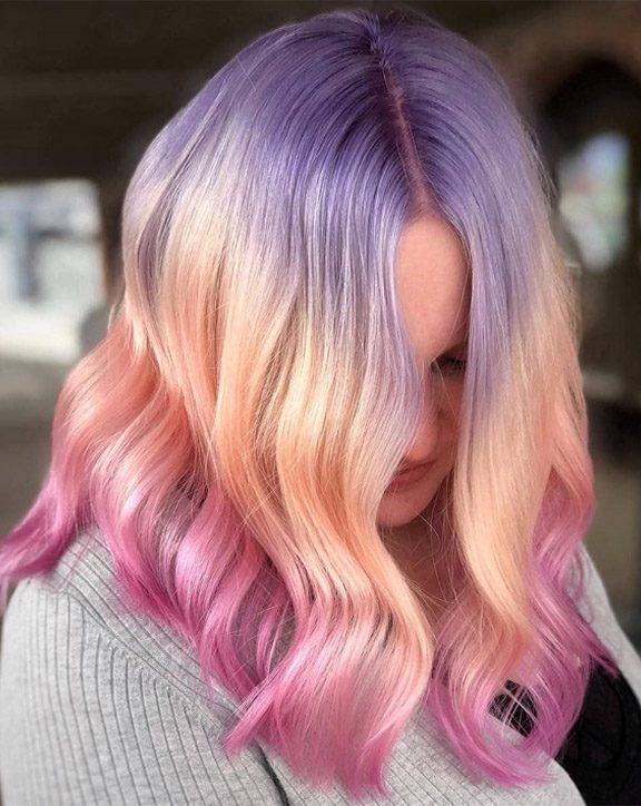 Stunning Hair Color Highlights & Trends for 2019