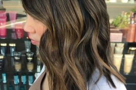 Textured Lob Styles for Girls in 2019