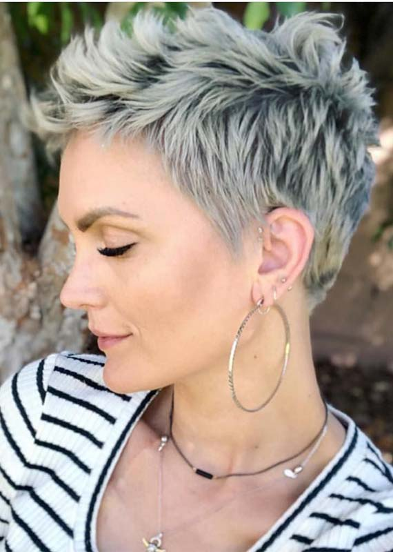 Undercut Short Pixie Haircuts in 2019
