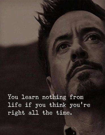 You Learn Nothing From Life - Awesome Life Quotes