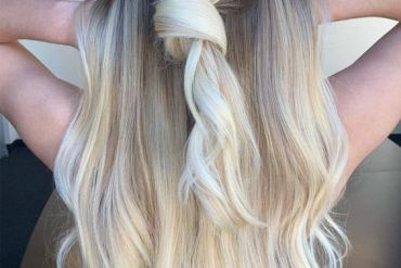 Awesome Knotted Blonde Hairstyles you can Try Now