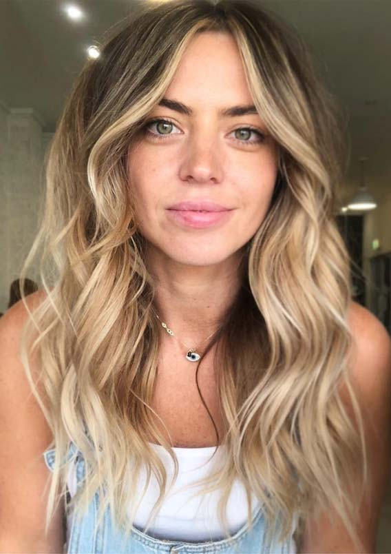 Gorgeous Shades of Blonde Balayage Hair Colors to Follow Nowadays