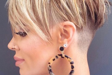 Modern Looks Of Undercut Pixie Hair Styles in 2019