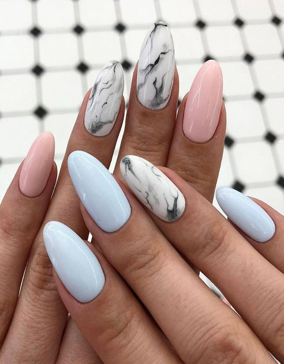 New & Easy Nail Art Images & Style for Ladies