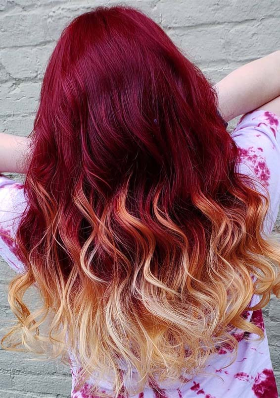Hottest Plum Red Hair Colors Amp Highlights To Wear In 2019