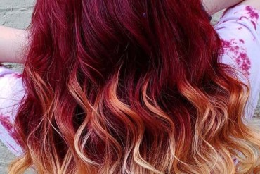 Plum Red Hair Colors & Highlights for 2019