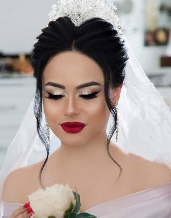 Prettiest Bridal Makeup Style for Teenage Girls In 2019