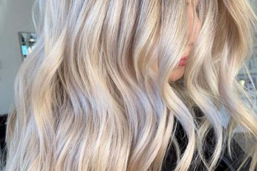 Seamless Blends Of Blonde Balayage Hair Colors for 2019
