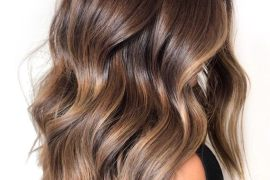 Stunning Balayage Hairstyle & Brown Highlights for 2019
