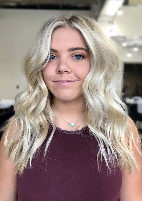 Best Face Framing Blonde Haircuts For Women In 2019