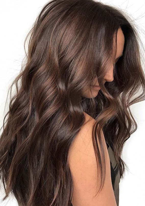 Brunette Balayage Hair Color Shades for 2019