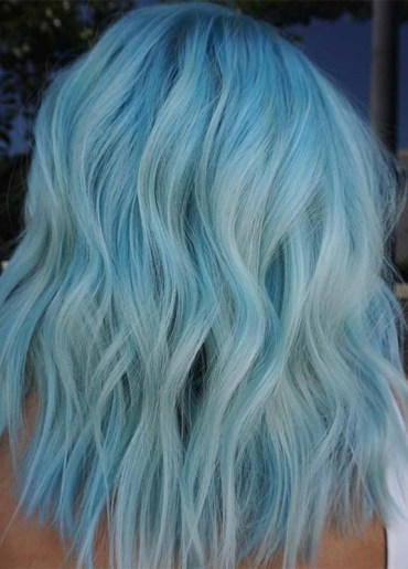 Awesome Trends of Blue Hair Colors