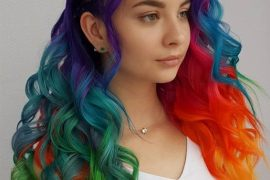 Colorful Hair Highlights & Trends for Long Hair In 2019
