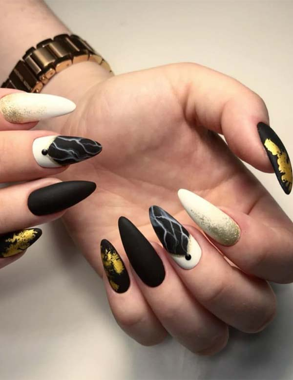 Colorful Nail Art Designs to Follow in this year