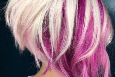 Awesome Short Hair Colorful Highlights for 2019